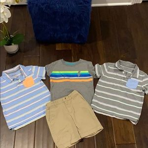 4T Shirts & Shorts for your little Man!! 👕